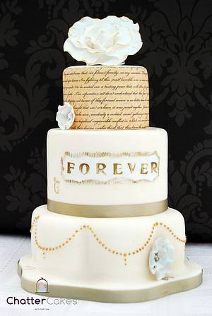 Forever - Cake by Chatter Cakes