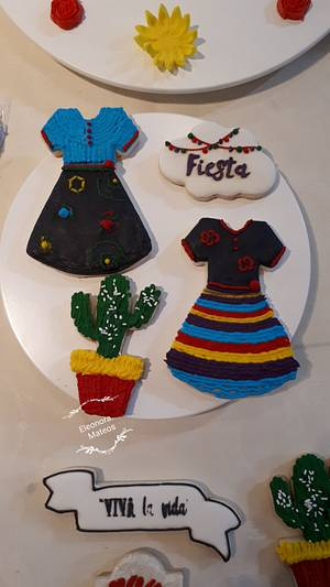 Vestidos mexicanos  - Cake by Eleonora Laura Mateos