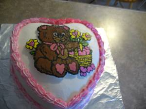 Valentines Day cake - Cake by cher45