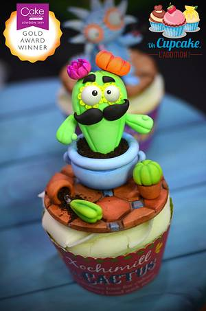 Mexican Alebrijes Cupcakes - Cake by Un Cupcake, l'Addition !