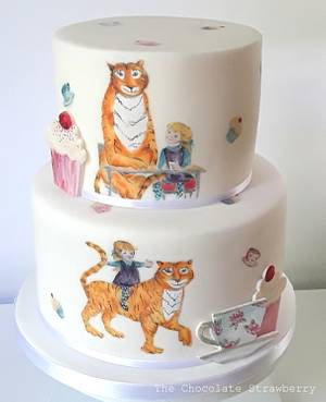 The Tiger That Came To Tea Cake - Cake by Sarah Jones