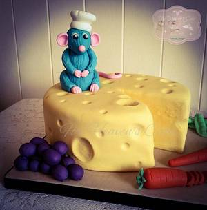 Ratatouille  - Cake by Bobbie-Anne Wright (For Heaven's Cake)