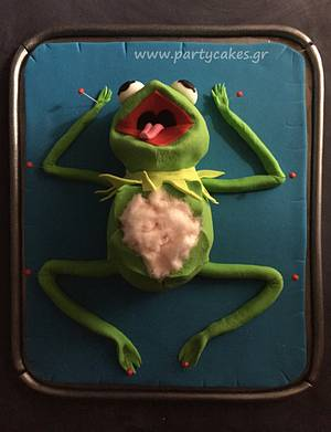 Frog Dissection - Cake by Cakes By Samantha (Greece)