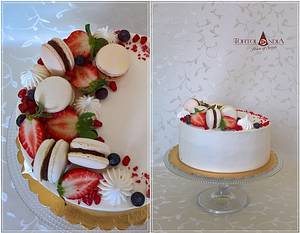 Creame cake  - Cake by Tortolandia