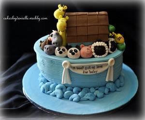 Noah's Ark Shower - Cake by CBD
