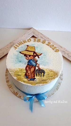 Christening cake - Cake by Kaliss