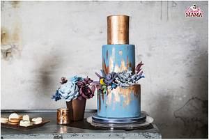 Industrial wedding sweet table - Cake by Soraya Sweetmama