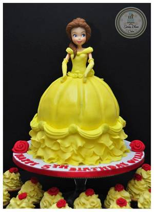 Belle Cake - Cake by Spring Bloom Cakes