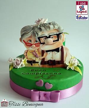 Up... love forever - Cake by Tissì Benvegna