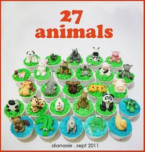 Animals - Cake by Diana