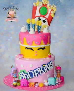 Shopkins Cake - Cake by Sarah's Cakes