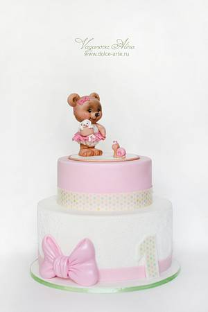 the first cake for baby - Cake by Alina Vaganova