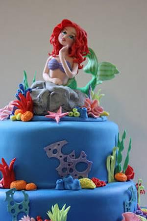 Mermaid Cake - Cake by topthatparties