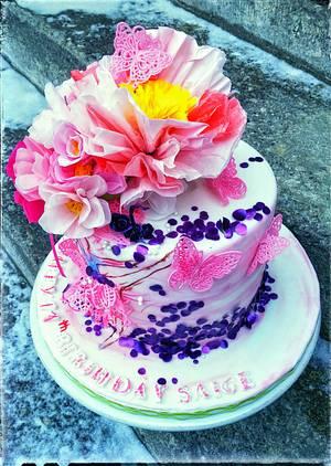 Ballerina Cake - Cake by Danijela Lilchickcupcakes