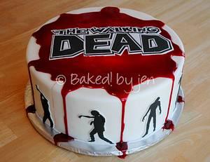 The Walking Dead Birthday Cake - Cake by Jen