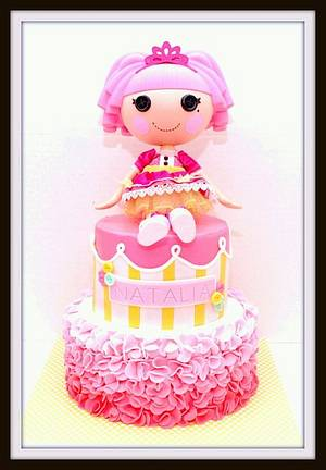 Lalaloopsy Cake - Cake by Marjorie