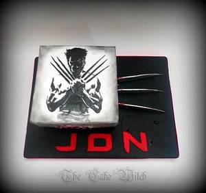 Wolverine - Cake by Nessie - The Cake Witch