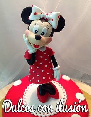 Minnie mouse cake - Cake by Dulces con ilusion