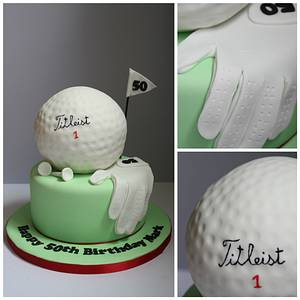 Anyone for golf? - Cake by Ballderdash & Bunting
