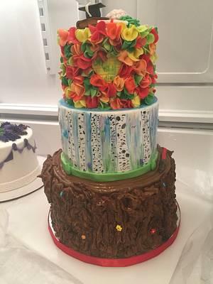 Grad Cake (Star Wars +s Added)... - Cake by Joliez