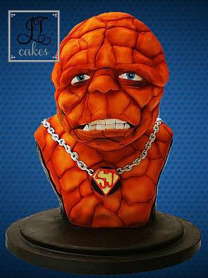 The Thing - Bake for Super Josh Collab - Cake by JT Cakes
