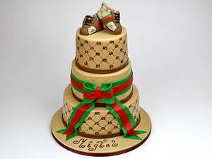 Gucci Birthday Cake, London - Cake by Beatrice Maria