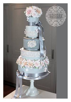 Audrey Rose - Cake by Roses by Moonlight
