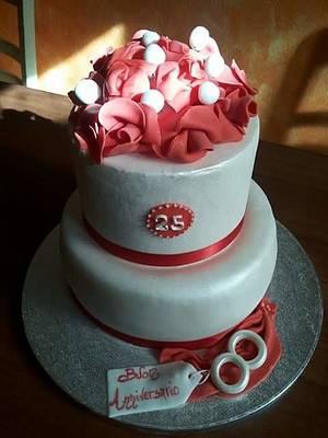 Anniversary cake - Cake by Simona