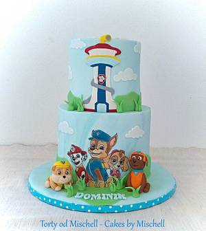 Paw patrol - Cake by Mischell