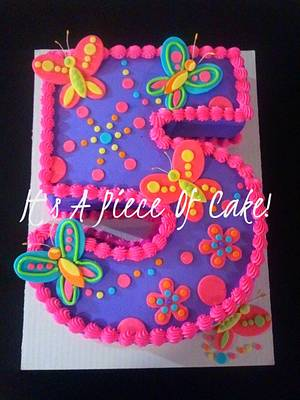 #5 Butterfly themed cake - Cake by Rebecca