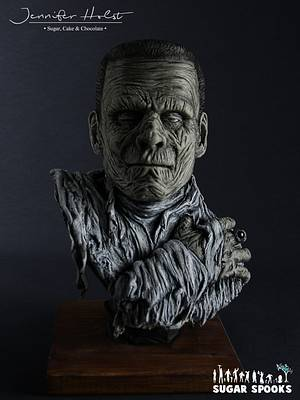 Monster of Frankenstein - Sugar Spooks 2018 - Cake by Jennifer Holst • Sugar, Cake & Chocolate •