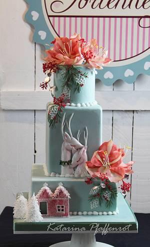 Christmas romance - Cake by Tortenherz