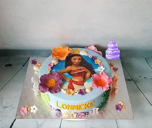 Vaiana. - Cake by Pluympjescake