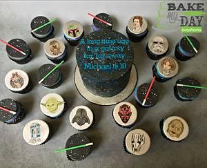 In a galaxy far, far away - Cake by Bake My Day Acadiana