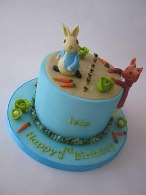 Peter Rabbit Birthday Cake - Cake by Sam Harrison