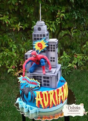 Torta Spider-Man - Spider-Man cake - Cake by Dolcidea creazioni