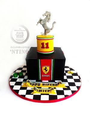 Ferrari  - Cake by Aspasia Stamou