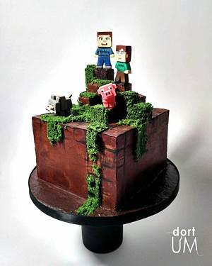 Minecraft - Cake by dortUM