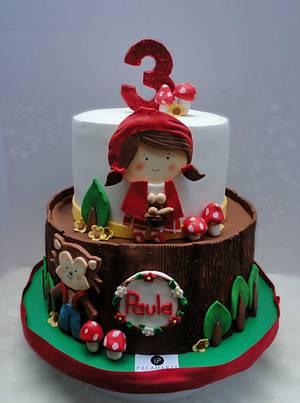 Red Riding Hood - Cake by Paladarte El Salvador