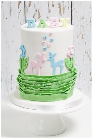 Babyshower Boy or Girl???? - Cake by Taartjes van An (Anneke)