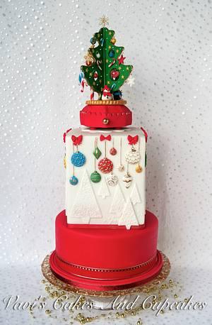 A Christmas Cake for my ANZA cycling club :)  - Cake by Vavijana Velkov