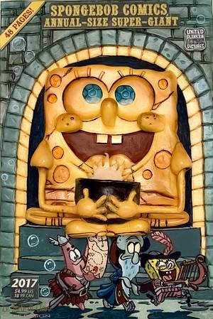 Spongebob cake magazine Cake Con International - Cake by Rita Cannova