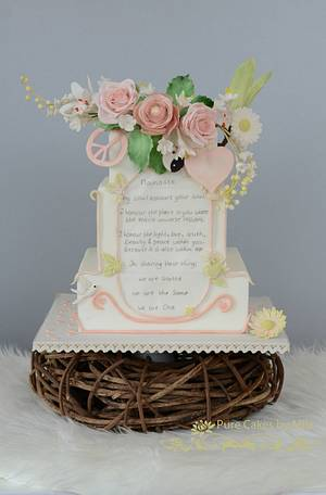 """""""Namaste, We are One""""  - Cake by Mila - Pure Cakes by Mila"""
