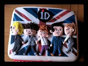 1 Direction cake - Cake by sliceofheaven