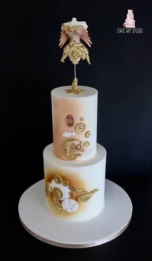Steampunk Collaboration  - Cake by Cake Art Studio