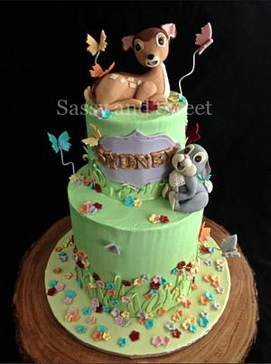 Bambi and Thumper Cake - Cake by Sassy and Sweet