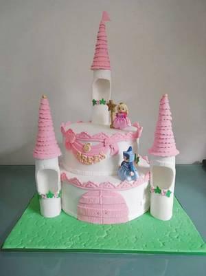castle cake - Cake by cakeartbysid