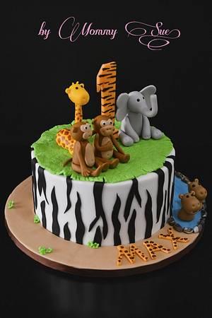 Safari Cake - Cake by Mommy Sue