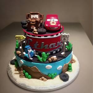 Cars cake - Cake by Micol Perugia