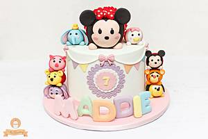 Tsum Tsum Cake  - Cake by The Sweetery - by Diana